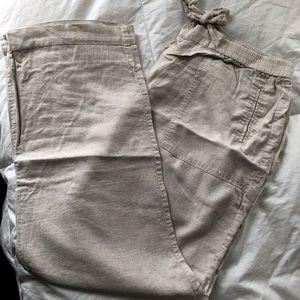 Rafaella linen pants
